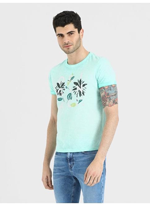 Loft Baskılı T-Shirt Yeşil